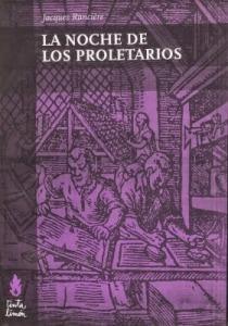 Capa da primeira edição em castelhano da Noche de los Proletarios. Tinta Limón, 2010.