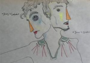 Jan. Lápices de colores. Tomás Sin Hache